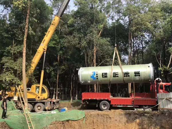 一体化污水提升泵站筒体优化设计
