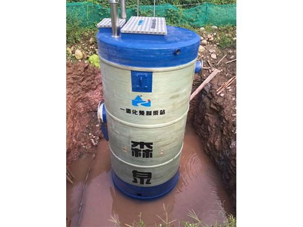 预制泵站多少钱